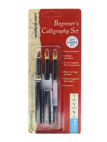 Kalligrafie linkshandig set nibs pennen