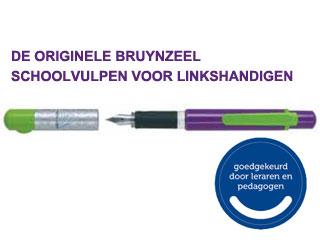 Schoolvulpen linkshandig Bruynzeel